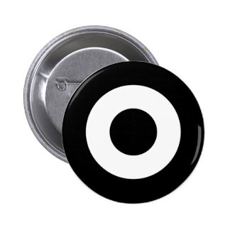 Mod target button, black and white