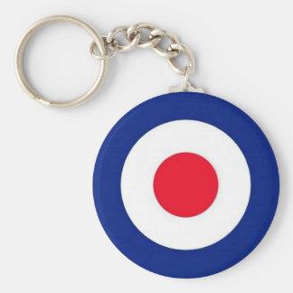 Mod Target Design Keychain