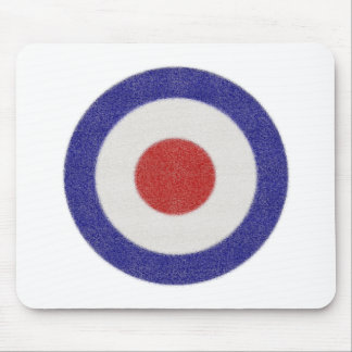 Mod Target Distressed Mouse Pad