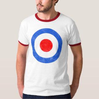 Mod Target Distressed T-Shirt