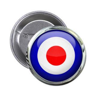 Mod Target Glass Ball Button