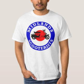 Mod Target - Midlands Scooterists T-Shirt