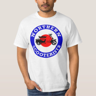 Mod Target - Northern Scooterists T-Shirt