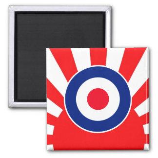 MOD Target Roundel on Burst Japan Magnet