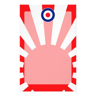 MOD Target Roundel on Burst Japan Stationery