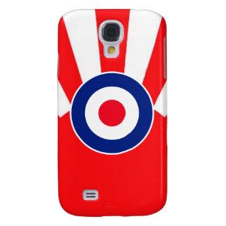 MOD Target Roundel on Sunburst Galaxy S4 Cover