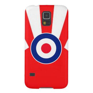 MOD Target Roundel on Sunburst Galaxy S5 Covers