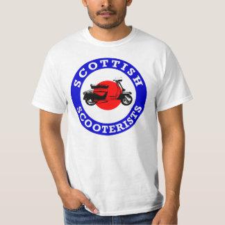 Mod Target - Scottish Scooterists T-Shirt