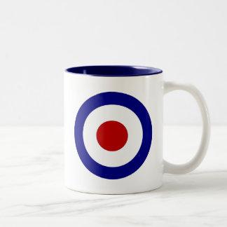 Mod Target Two-Tone Coffee Mug