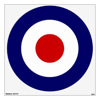 Mod Target wall decal
