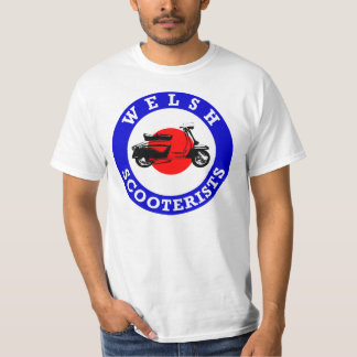 Mod Target - Welsh Scooterists T-Shirt