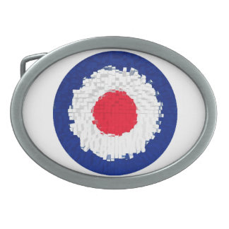 Mod Target with effect applied Belt Buckles