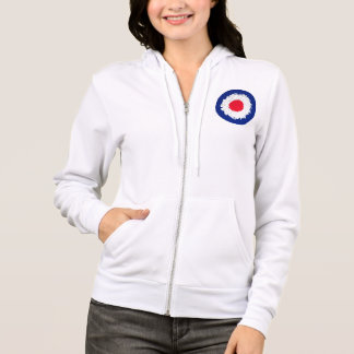 Mod Target with effect applied Hoodie