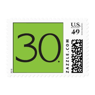 Mod Thirty Clover Postage