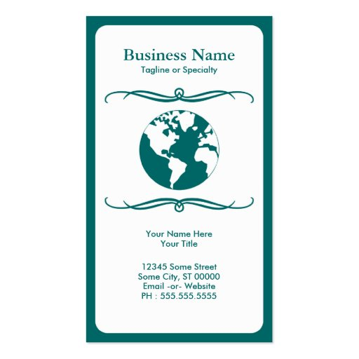 mod travel business cards
