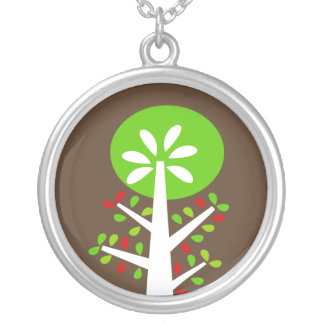 Mod Tree Holiday Necklace