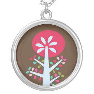 Mod Tree Kiss Necklace