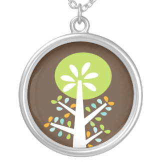Mod Tree Pool Necklace