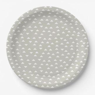 Mod Triangle | Paper plates