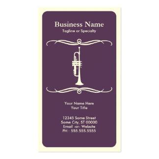 mod trumpet business card