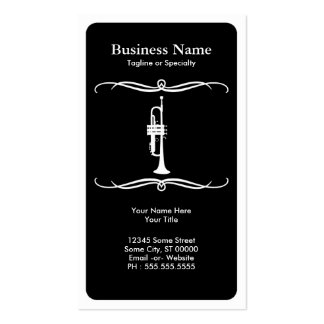 mod trumpet Double-Sided standard business cards (Pack of 100)