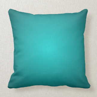 Mod Turquoise Dimensional 3D Spectrum Decor Pillow