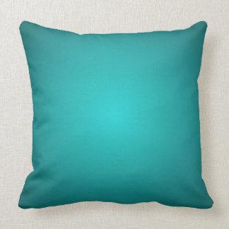 Mod Turquoise Dimensional 3D Spectrum Decor Pillow