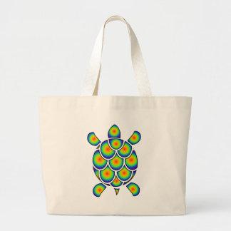 Mod Tye Dye Sea Turtle Canvas Bags