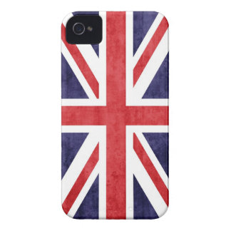 MOD Union Jack del vintage iPhone 4 Protectores
