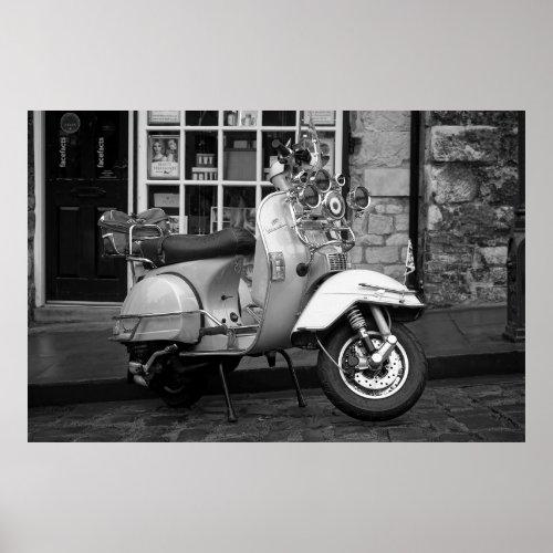 Mod vintage scooter