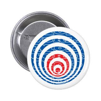 Mod World Target 2 Inch Round Button