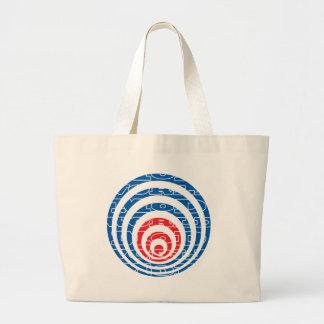 Mod World Target Jumbo Tote Bag