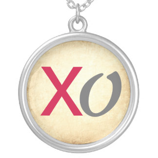 Mod XO Kisses and Hugs Silver Necklace