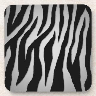 Mod Zebra Drink Coasters