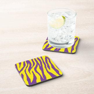 Mod Zebra Print Beverage Coaster