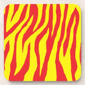 Mod Zebra Print Coasters