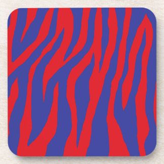 Mod Zebra Print Drink Coaster