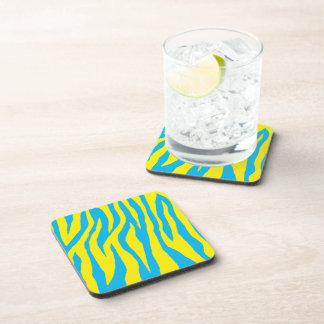 Mod Zebra Print Drink Coasters