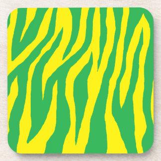 Mod Zebra Print Coaster