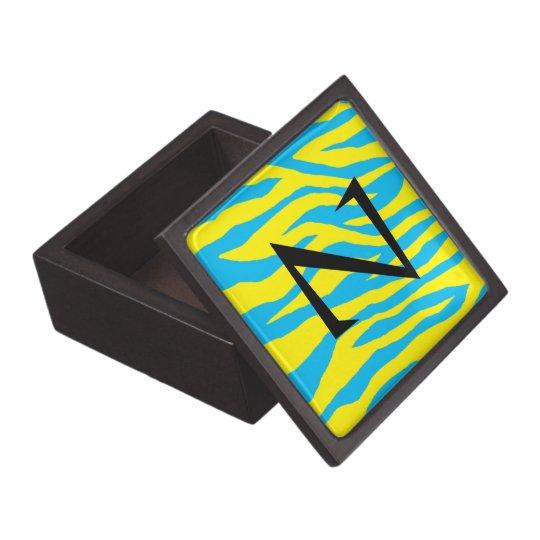 Mod Zebra Print Jewelry Box
