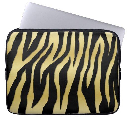 Mod Zebras Laptop Computer Sleeves