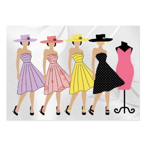 Moda/costurera/diseñador - SRF Tarjetas De Visita Grandes