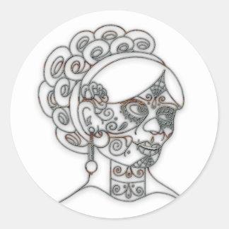 Moda Dama DOD Sticker