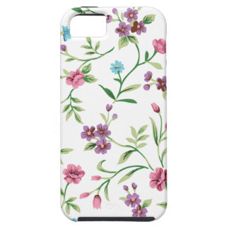 Moda de Emma Janeway floral iPhone 5 Case-Mate Protectores