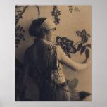 Moda de la aleta - los años 20 se visten y el esti poster