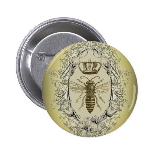 Moda de la corona de la reina de la abeja del Vict Pin