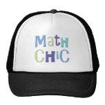 Moda de la matemáticas gorras de camionero