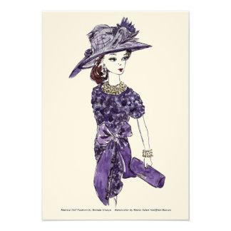 Moda de la muñeca de Matisse - escape del ciruelo Anuncios Personalizados