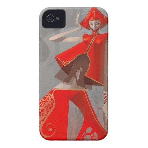 Moda de la pimienta iPhone 4 Case-Mate protector
