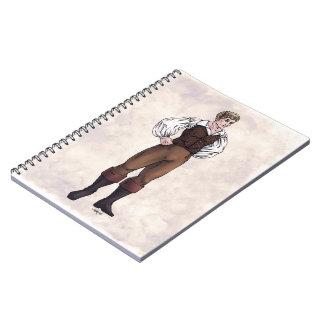 Moda de la regencia - caballero #5 - cuaderno